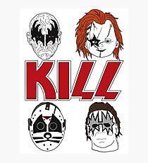 KISS/KILL Photographic Print