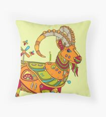 Ibex, from the AlphaPod collection Throw Pillow