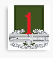 1st Infantry Combat Action Badge (CAB) Canvas Print