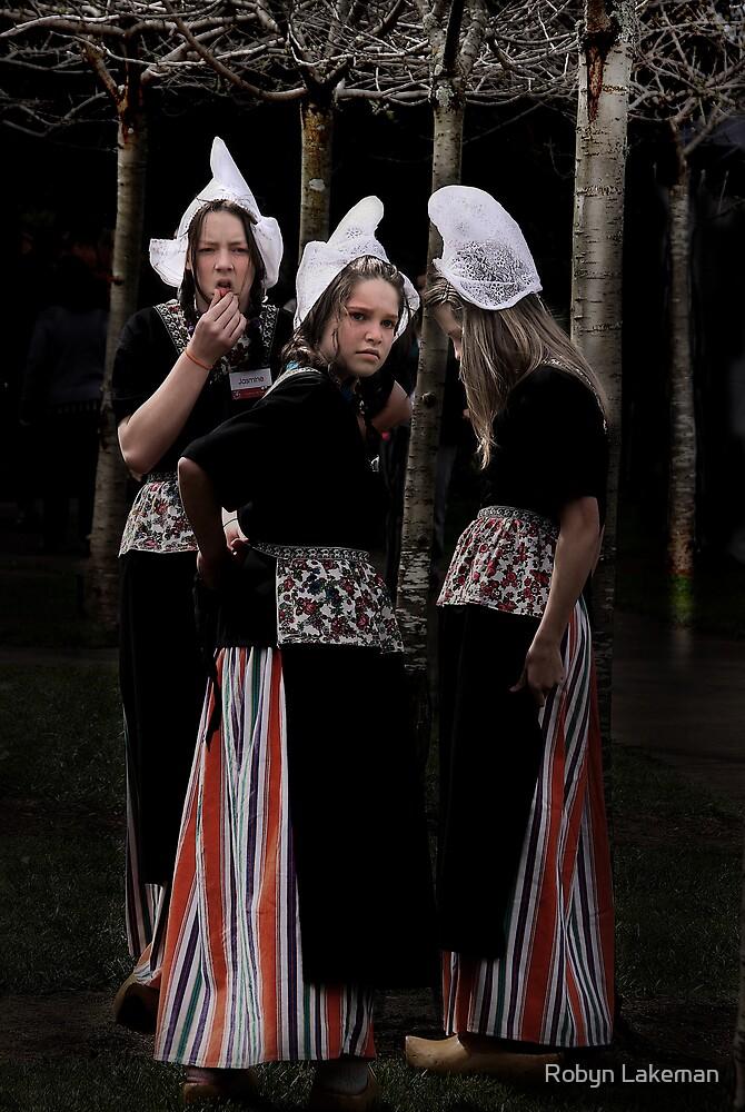 Three dutch girls by Robyn Lakeman