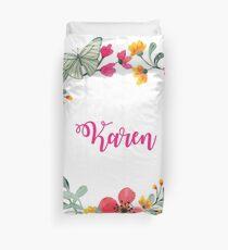 Personalised for Karen Duvet Cover