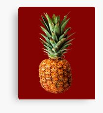 Pineapple Vector Canvas Print
