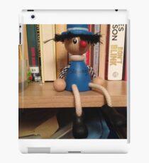 Wooden Doll Bookshelf iPad Case/Skin