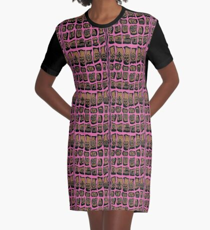 October Is Graphic T-Shirt Dress