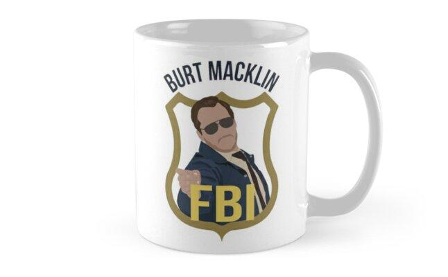 Burt Macklin - Parks and Recreation Mug