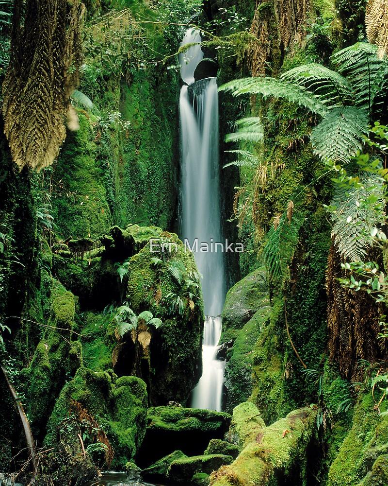 Errinundra Waterfall, Victoria, Australia. by Ern Mainka