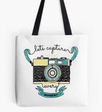 Let's capture every moment Tote Bag
