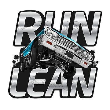 Auto Series Run Lean by allovervintage