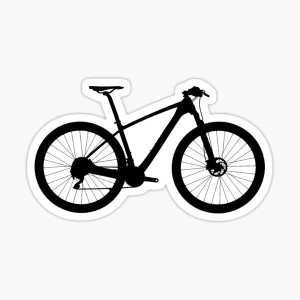 Felt Bikes Large Script Black//white//clear Sticker Decal