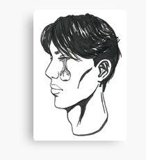 Man Without An Eye Canvas Print