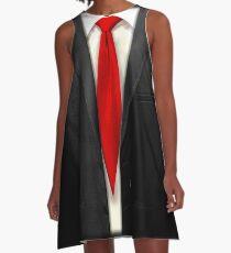 Blood Tie, Black Suit A-Line Dress