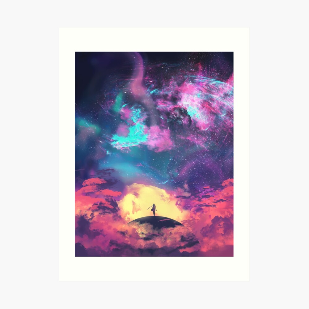 The Speck of Dust Art Print