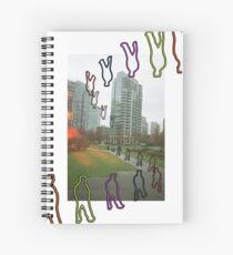 HERE OR THERE Spiral Notebook