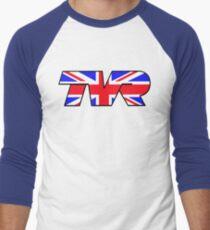 TVR Logo Union Jack Men's Baseball ¾ T-Shirt