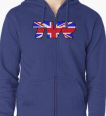TVR Logo Union Jack Zipped Hoodie