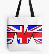 TVR Logo Union Jack Tote Bag