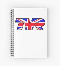 TVR Logo Union Jack Spiral Notebook