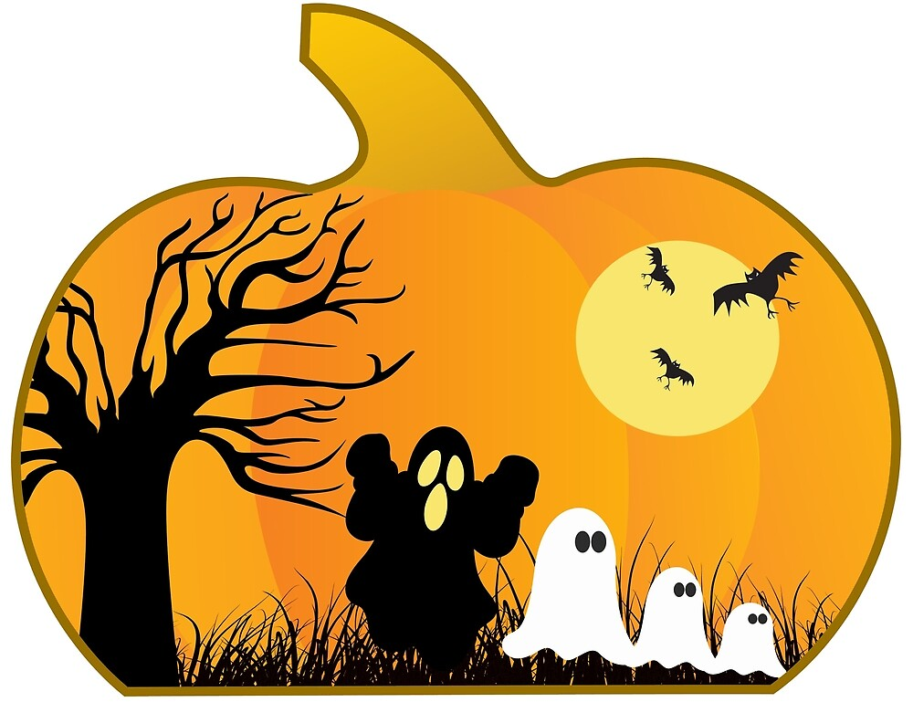 Ghosts Go Trick or Treating by Chiwow-Media