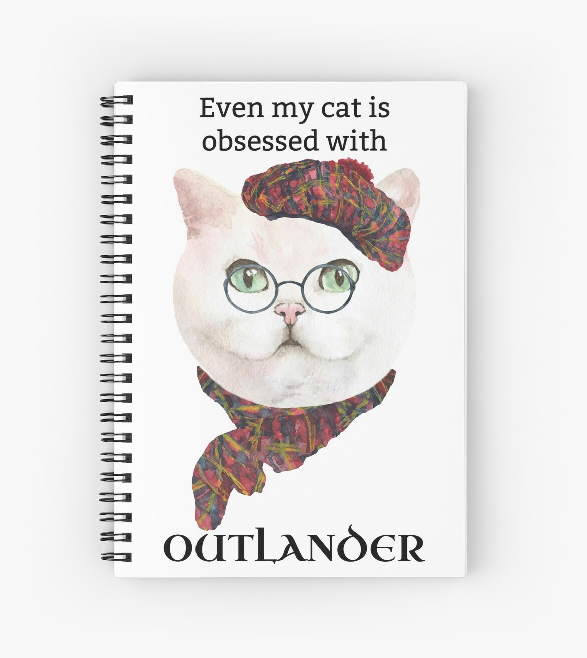 Funny Outlander Cat by itsagift