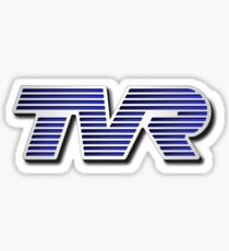 TVR Logo Colorful Sticker
