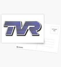 TVR Logo Colorful Postcards
