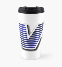 TVR Logo Colorful Travel Mug