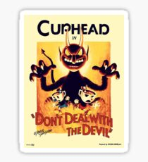 cuphead Sticker