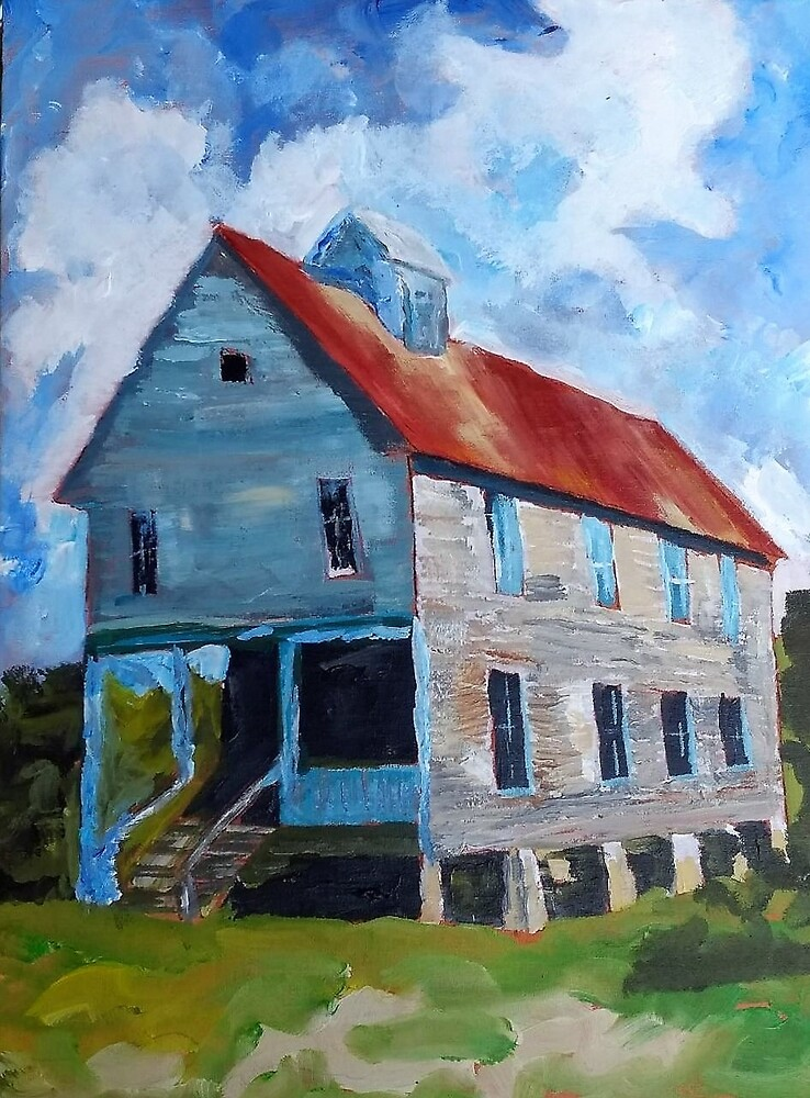 Rural TN Church Series No 18 by Robyn Barber