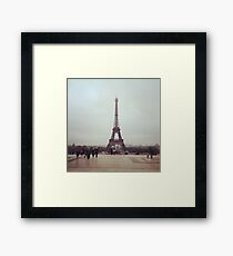 Beyond The Eiffel Tower Framed Print