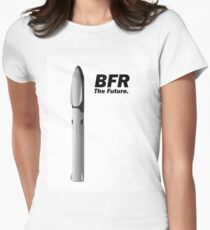 bfr spacex the future women s fitted t shirt