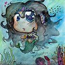 Cute Mediterranean Mermaid Chibi  by katdensetsu