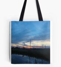 Blue Sky Smilin' at Me (OK so it was sundown) Tote Bag