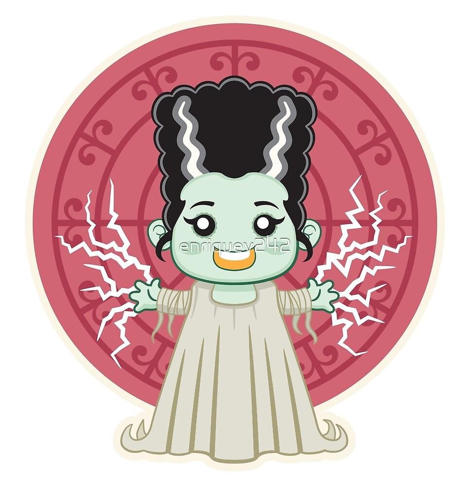 Frankenstein Bride Kid by enriquev242