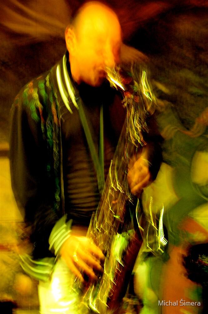 saxofonist  by Michal Šimera