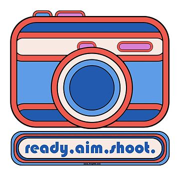 Ready Aim Shoot - Camera Design by strayfoto