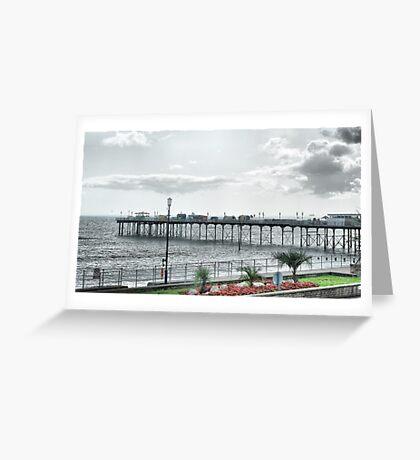 Teignmouth Pier Greeting Card