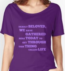 Let's Go Crazy Women's Relaxed Fit T-Shirt