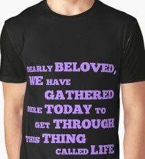 Camiseta gráfica Hagamos locuras