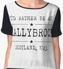 Lallybroch - Outlander Women's Chiffon Top