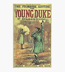Old Book Covers: Young Duke Photographic Print