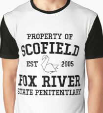 Prison Break Graphic T-Shirt