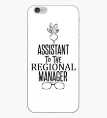 Dwight Schrute - Assistant to the Regional Manager iPhone Case