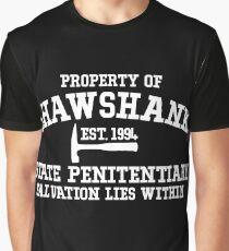 Shawshank State Penitentiary - Shawshank Redemption  Graphic T-Shirt