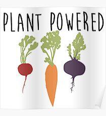 Plant Powered - Vegan Poster