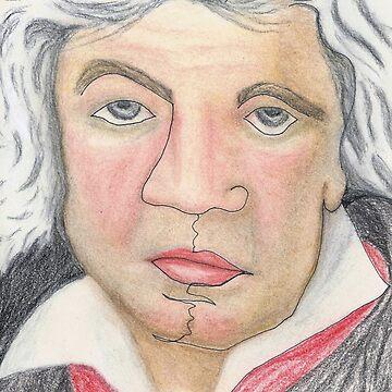 Ludwig van Beethoven by DeborahMcGrath