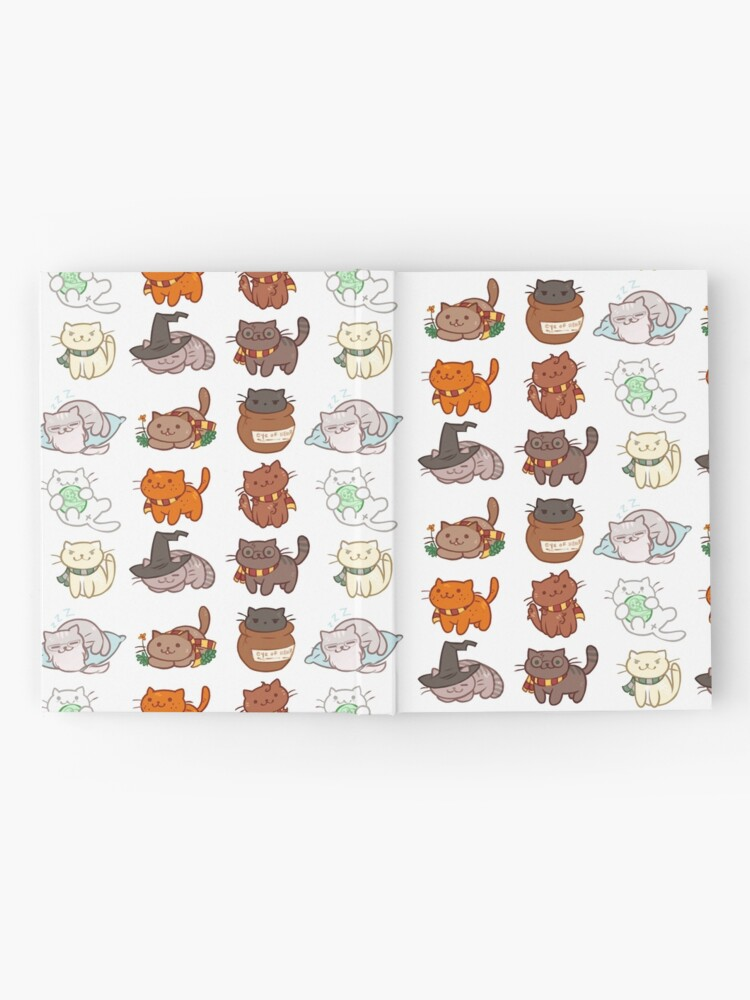 Alternate view of Hairy Pawtter Hardcover Journal