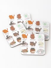 Hairy Pawtter Coasters