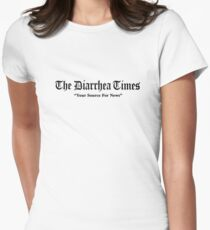 Nathan for You - The Diarrhea Times Shirt Women's Fitted T-Shirt