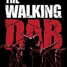 «Dabbing Walking Dab Zombie camiseta» de vomaria