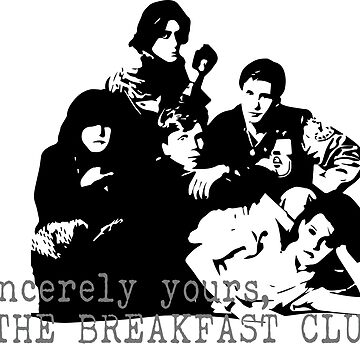 The Breakfast Club by SparksGraphics